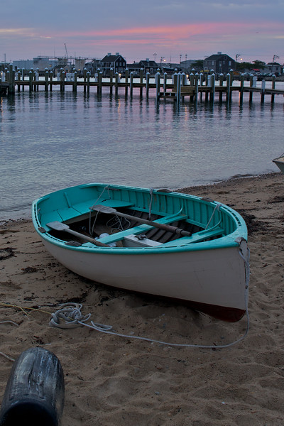Beached Rowing Boat