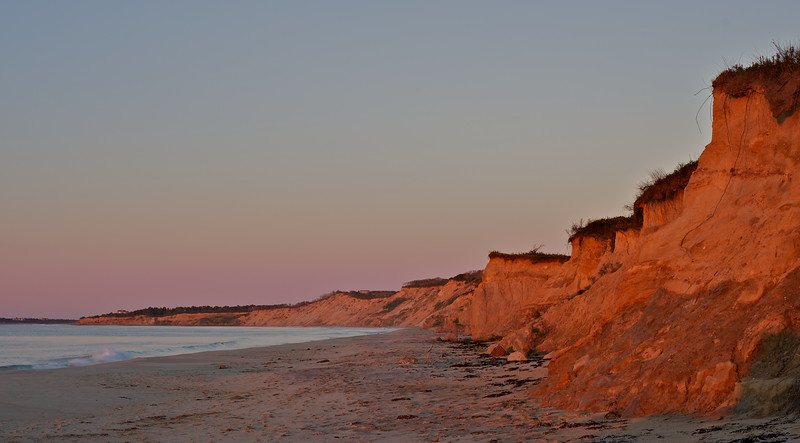 Early light on the Bluff