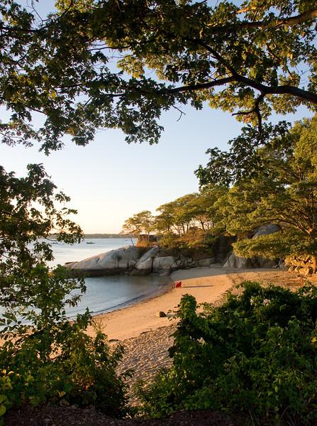 Summer morning, Half Moon beach