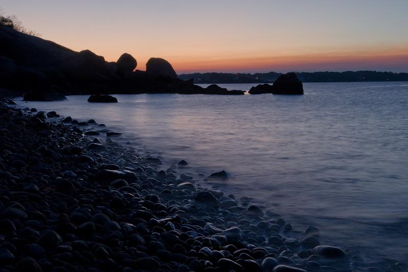Quiet morning on the beach