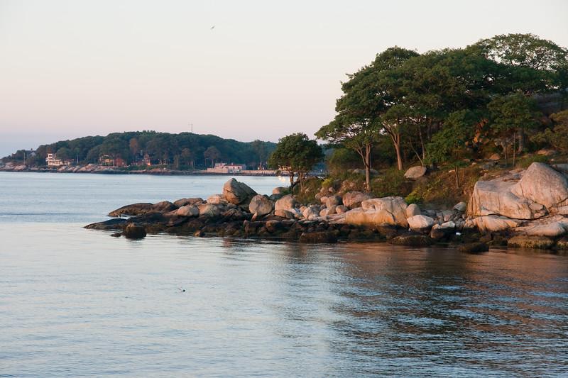 Shoreline, morning light