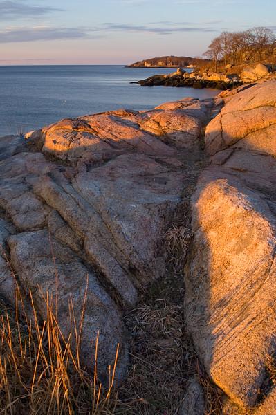 Granite, morning sun