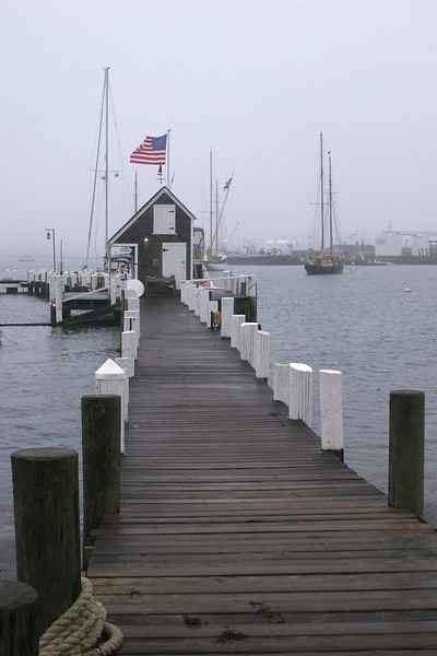 Misty Day at the Dock