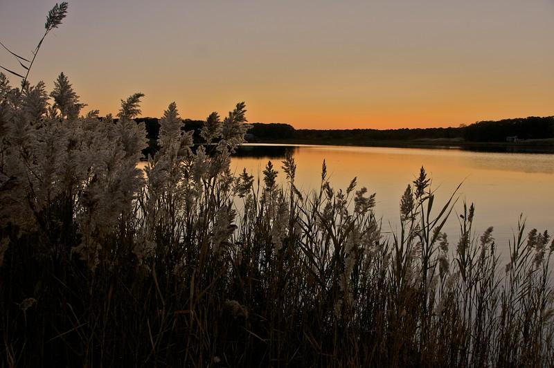 Sunset on Sengekontacket