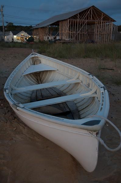 Dawn in the Boatyard