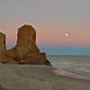 Moonrise on Lucy Vincent Beach