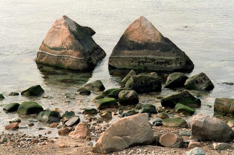 Beach pyramids