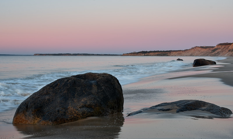 Dawn on Lucy Vincent Beach