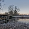 Hoar Frost at the Old North Bridge