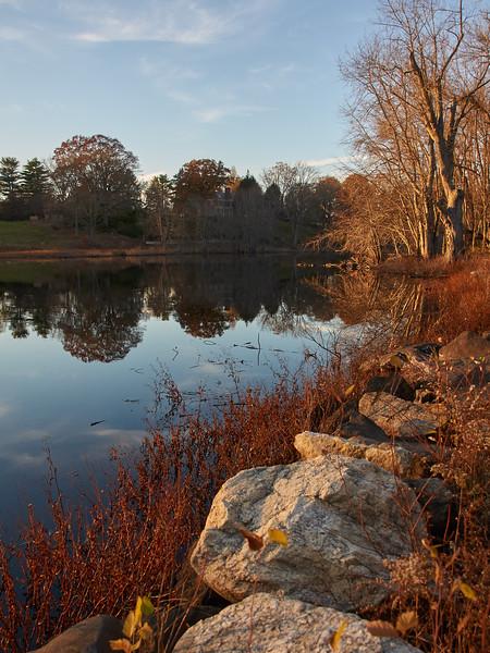 River Concord near the Old North Bridge