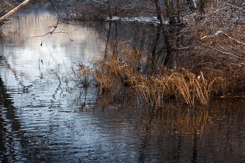 Sudbury River, First Snow