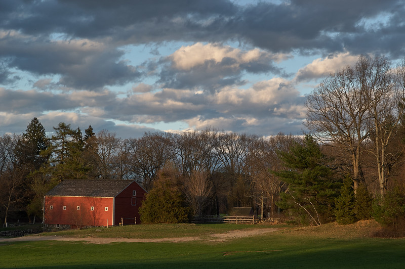 Barn in the Evening