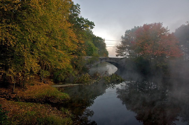 Mist on the Blackstone River
