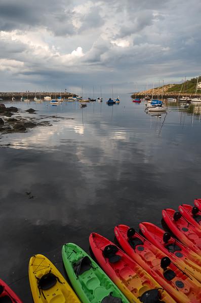 Kayaks, Still Day