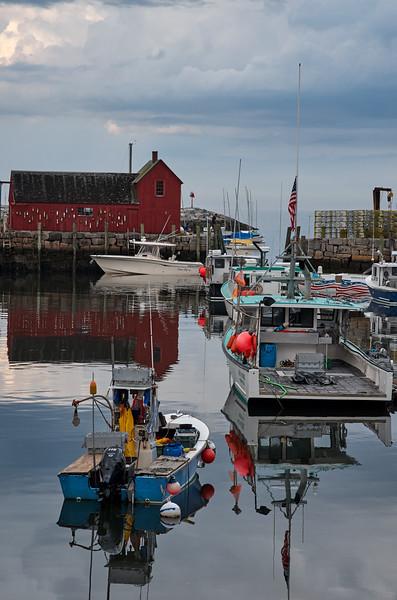 Still Day in the Harbor