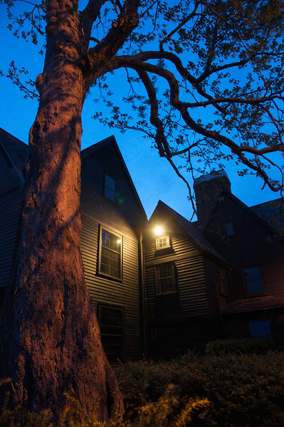 House of Seven Gables at Night