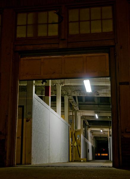 Night interior