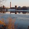 Sudbury pond, winter