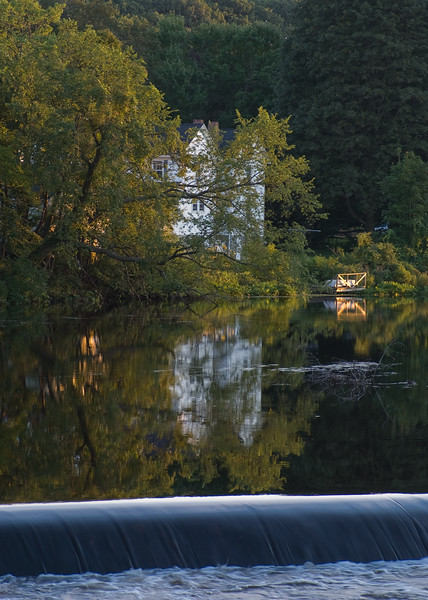 A summer evening on the Sudbury river
