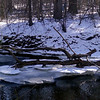 Ice on the Sudbury river
