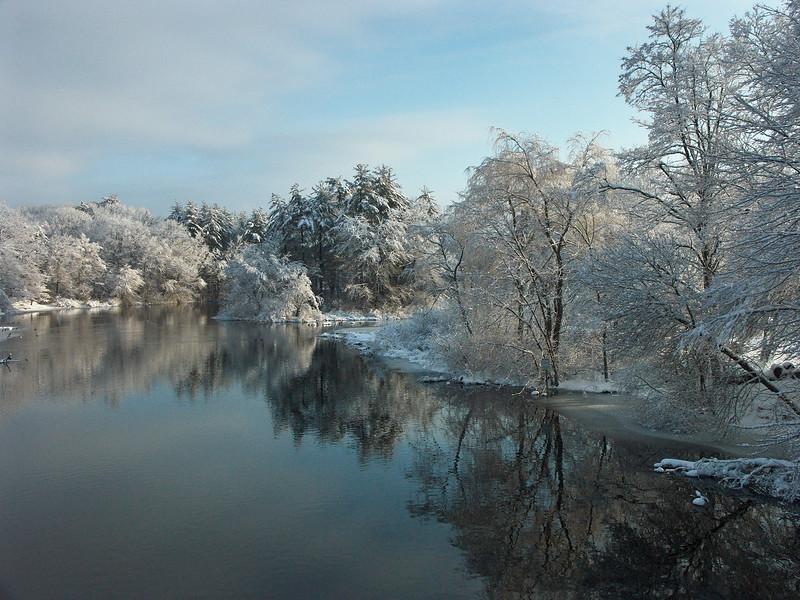 Winter Snow, Sudbury River