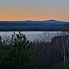 Dusk Over Wachusett Reservoir