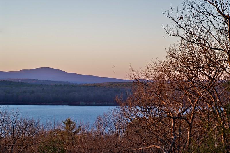 Wachusett Reservoir, Evening Light