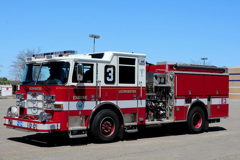 Leominster Fire Dept    Engine  3   2012   Pierce  Arrow XT  1500/ 675