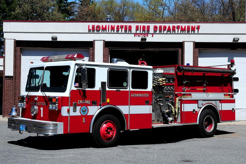 Leominster  Fire  Dept  Engine  1  1989 Maxim/ EJ Murphy  1500/ 1000