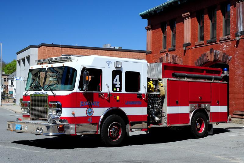 Leominster Fire  Dept   Engine  4  2005  Spartan/ Ferrara  1250/ 1000