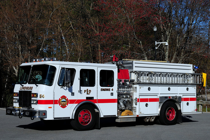 Lunenburg Fire Dept   Engine  4  1995  emergency-One  1000/ 1500/ 20  Foam