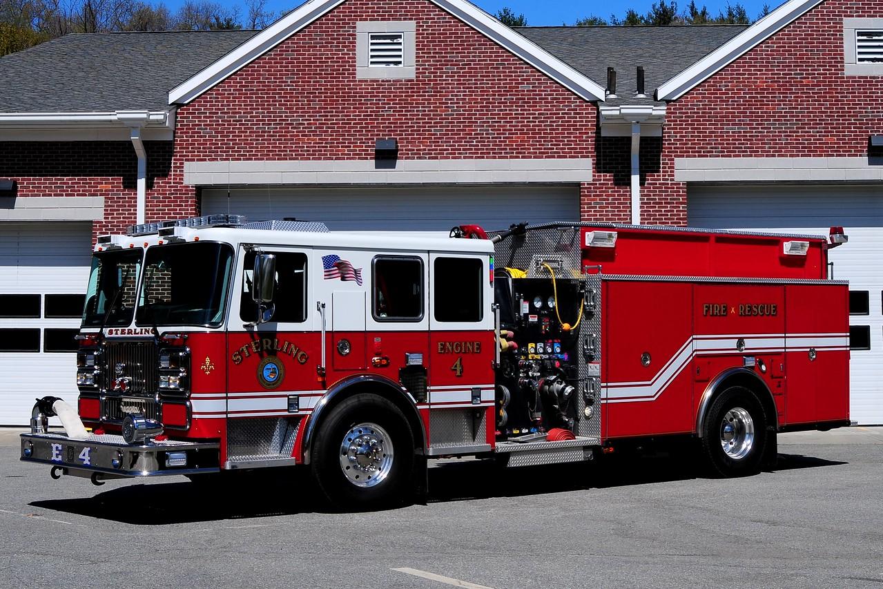 Sterling  Fire Dept   Engine  4  2010 Seagrave  1500/ 1500 / 20  Foam