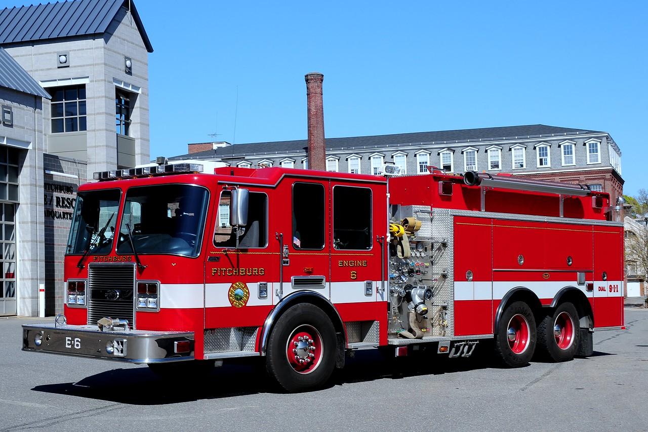 Fitchburg Fire Dept    Engine  6  2005  KME  Predator   1250/ 2000/ 25  Foam