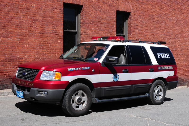 Leominster Fire  Dept   Deputy  Chief  Car   2006  Ford Expedition  4X4