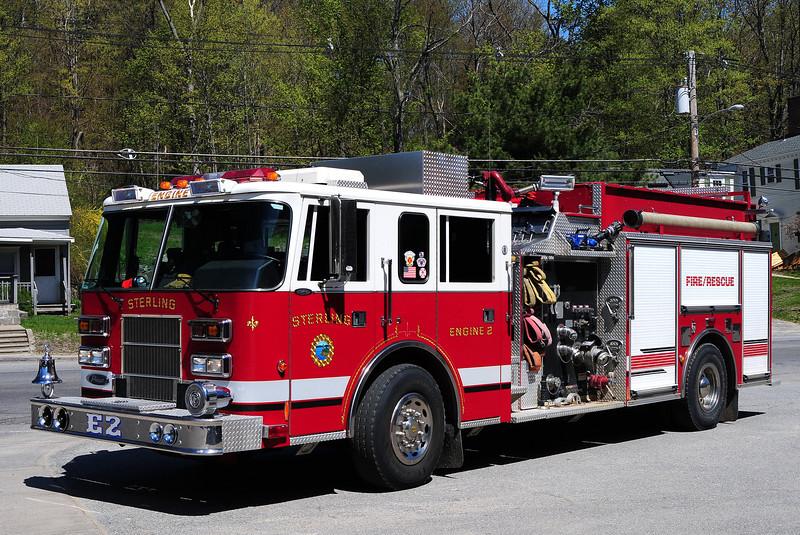 Sterling  Fire  Dept  Engine  2  1997  Pierce  Saber  1500/ 1000