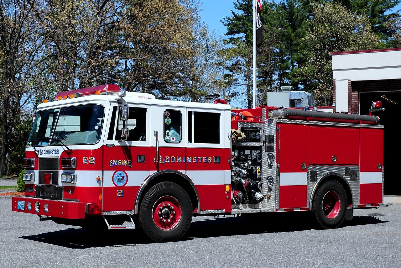 Leominster Fire Dept  Engine 2  1995  Pierce  Saber  1250/ 1000
