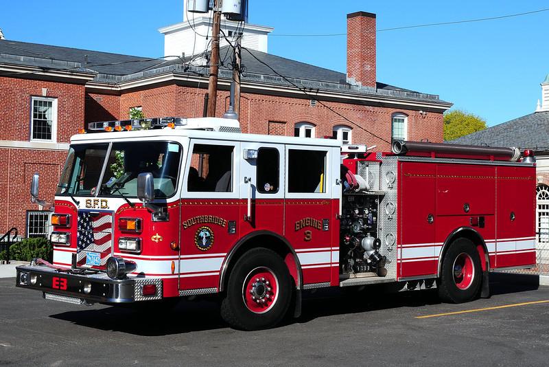 Southbridge Fire Dept   Engine  3  2008  Pierce  Contender  1500/ 750