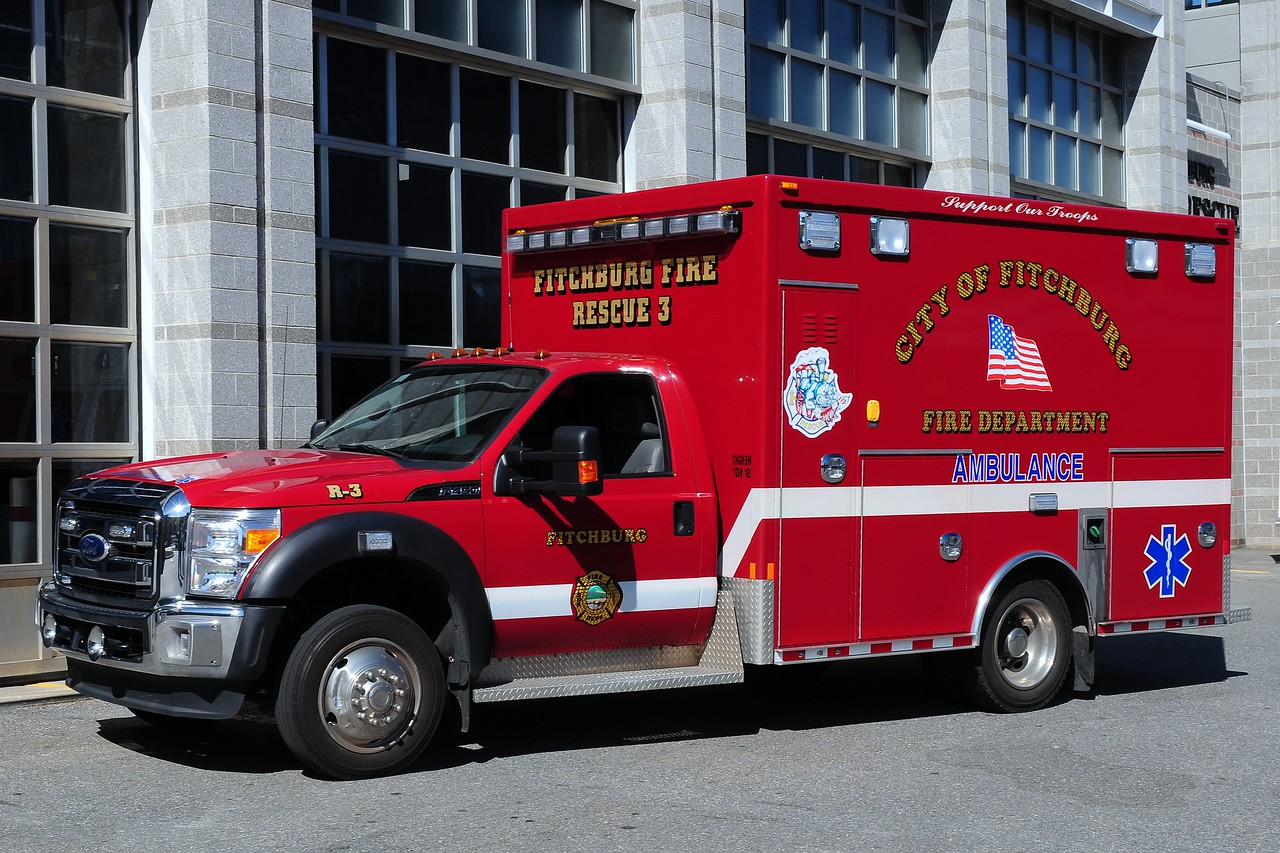 Fitchburg Fire Dept  Rescue  3   2011  Ford  F-450