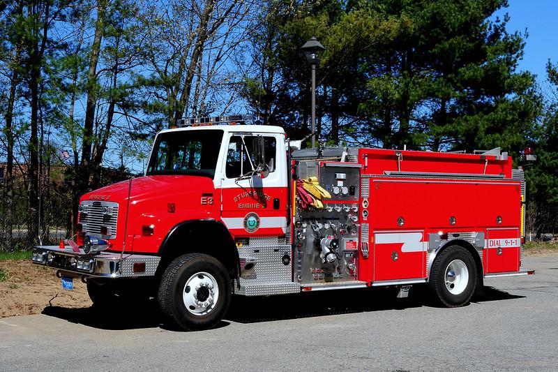 Sturbridge Fire Dept   Engine  3  2005  Freightliner  FL 80/ Emergency-One  4x4   1500/ 1000