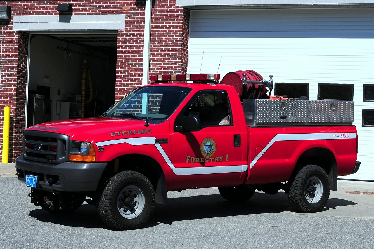 Sterling  Fire  dept   Forestry  1  1999  Ford F-350  250/ 200  type  6  engine