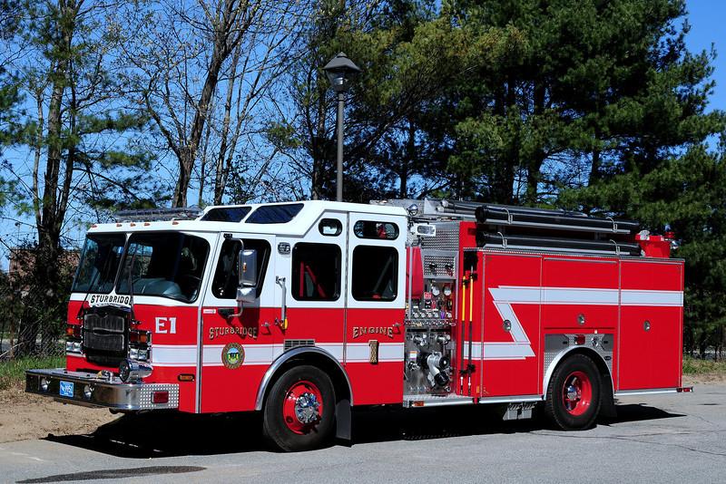 Sturbridge Fire Dept    Engine  1   2010  Emergency-One  Typhoon  1500/ 1000/ 30