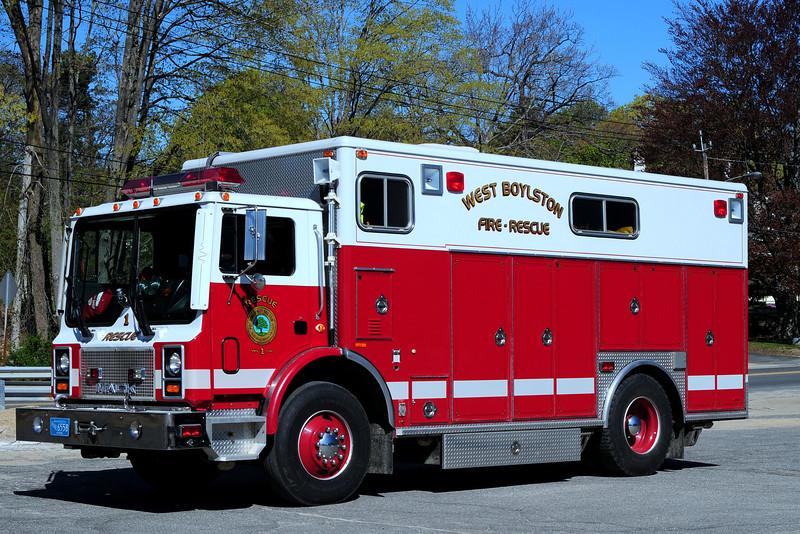 West  Boylston Fire Dept    Rescue  1   194  Mack MR/  Ranger