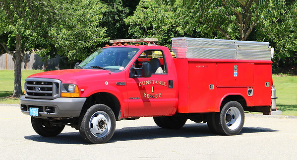 Rescue 1.  1999 Ford F-450 / Reading