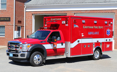 Ambulance 163   2016 Ford F-550 / Lifeline