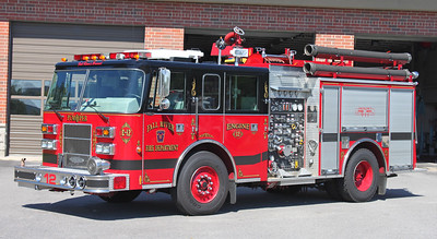 Retired Engine 12.  1994 Pierce Saber.  1500 / 700 / 20A / 30B