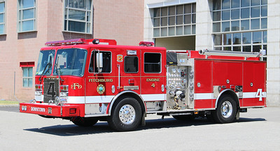 Engine 4.  2019 KME Panther.  1750 / 750 / 20F