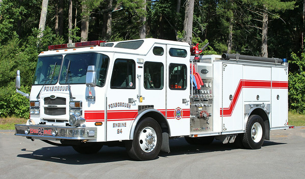 Retired.  Engine 24.  2003 E-One Typhoon.  1500 / 750