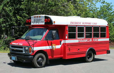 Incident Support Unit 1999 Chevy Mini Bus