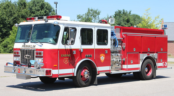 Retired  Engine 2   1995 E-One   1250/500