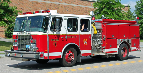 Retired .  Engine 3 .  1997 E-One Cyclone .  1500 / 500